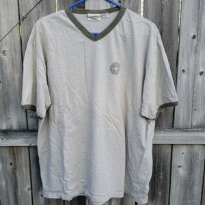 American Eagle Shirt in Army & Sage Green